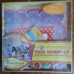 Racial Harmony Box with Sticker